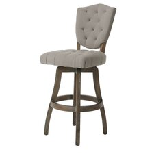 "Philadelphia 26"" Swivel Bar Stool with Cushion"