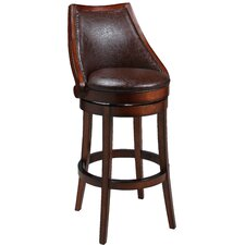 "Alta Loma 30"" Swivel Bar Stool with Cusion"