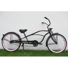 """26"""" Single Speed Stretch Cruiser with Springer Front Fork"""