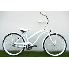 Women's 26 Inch Single Speed Premium Beach Cruiser
