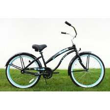 "Ladies 26"" Single Speed Aluminum Beach Cruiser"