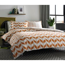 Amelia Geometric Duvet Cover Set