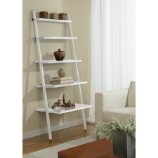 "Parson 71"" Leaning Bookcase"