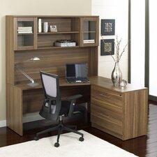 Pro X 3-Piece L-Shape Desk Office Suite