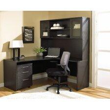 100 3-Piece L-Shape Home Desk Office Suite
