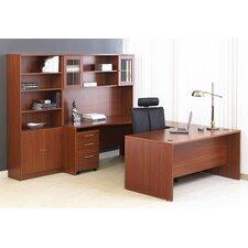 100 5-Piece U-Shape Desk Office Suite
