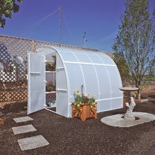 Harvester 8 Ft. W x 24 Ft. D Polyethylene Greenhouse