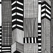 "Marimekko II Ruutukaava 33' x 27.6"" Geometric Wallpaper"