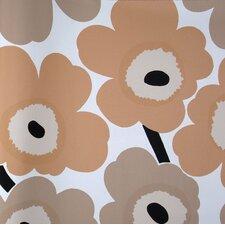 "Unikko 33' x 27"" Floral and Botanical Embossed Wallpaper"