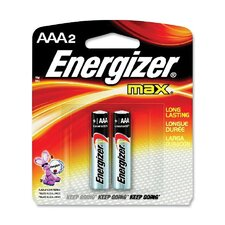 Energizer AAA Alkaline Battery (Set of 2)