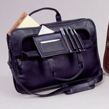 Cowhide Slim Leather Briefcase