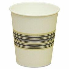 Paper Hot Cups, Blue & Tan, 20 Bags of 50, 1000/Carton, Various Sizes