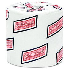Standard 2-Ply Toilet Paper - 500 Sheets per Roll / 96 Rolls