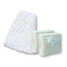 16 Band Mop Head in White