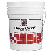 Once Over Liquid Floor Stripper - 5 Gallons