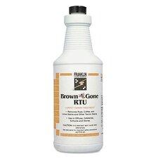Brown 'Bee' Gone RTU Carpet Tannin Liquid Treatment - 1 Gallon / 12 per Case