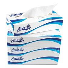 Facial 2-Ply Tissue - 100 Tissues per Box