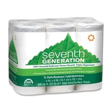 2-Ply Toilet Paper - 300 Sheets per Roll / 12 Rolls