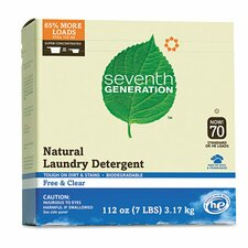 Natural Powder Laundry Detergent (112 oz.)