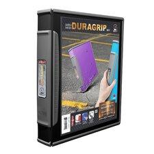 DuraGrip Hard Poly D-Ring View Binder (Set of 6)
