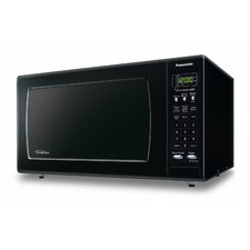 1.6 Cu. Ft. 1250W Countertop Microwave in Black
