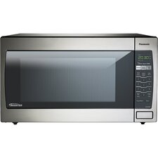 2.2 Cu. Ft. 1250W Countertop Microwave in Stainless Steel