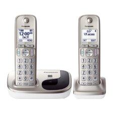 Panasonic Dect 6.0 Plus 2 Handset Expandable Digital Cordless Phone System