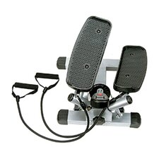 Twist Adjustable Stepper with Exercise Bands