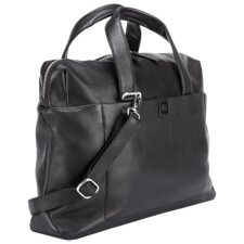 Pernety Leather Laptop Briefcase