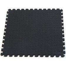Rhino-Tec Sport Multi-Purpose Garage PVC Floor Tile in Black (Pack of 6)