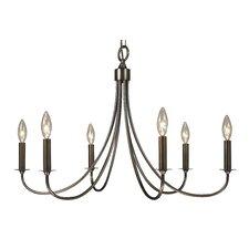 Maisonette 6 Light Candle Chandelier