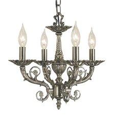 Napoleonic 4 Light Candle Chandelier