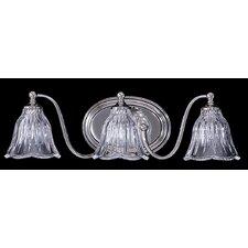 Crystal Nouveau 3 Light Vanity Light