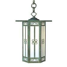 Lily 1 Light Outdoor Hanging Lantern