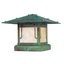 Pagoda 1 Light Post Lantern