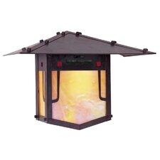 Pagoda 1 Light Wall Lantern