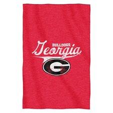 Collegiate Georgia Blanket