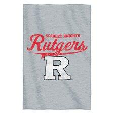 Collegiate Rutgers Blanket