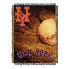MLB Mets Vintage Throw Blanket