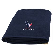 NFL Texans Applique Beach Towel