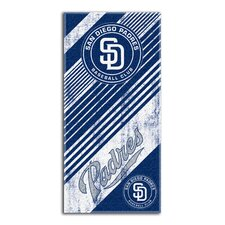 MLB Padres Diagonal Beach Towel