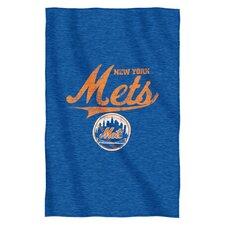 MLB Mets Throw Blanket