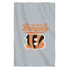 NFL Bengals Throw Blanket
