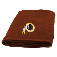 NFL Redskins Applique Beach Towel