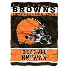NFL Browns 12th Man Raschel Throw