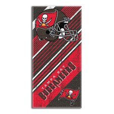 NFL Buccaneers Diagonal Beach Towel