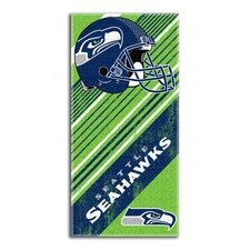 NFL Seahawks Diagonal Beach Towel