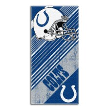 NFL Colts Diagonal Beach Towel