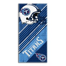 NFL Titans Diagonal Beach Towel