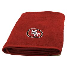 NFL 49ers Appliqué Beach Towel